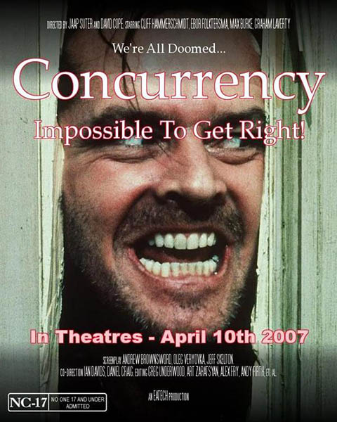 Concurrency - The Movie